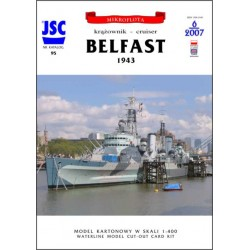 Brytyjski krążownik BELFAST...