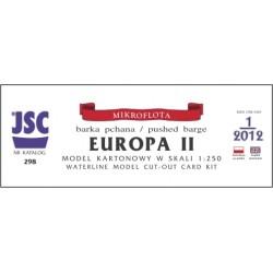 Pushed barge EUROPA II (JSC...