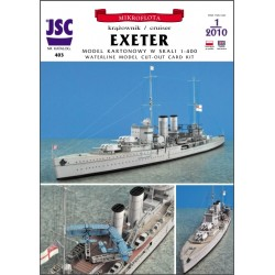 Brytyjski krążownik EXETER...