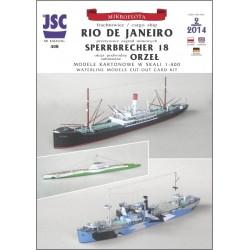 Niemieckie statki RIO DE...