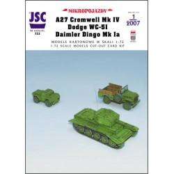 Brytyjski czołg CROMWELL...