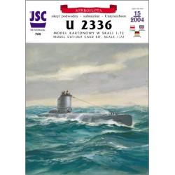 German submarine U 2336...