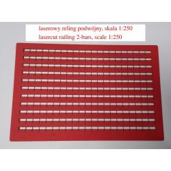 lasercut railings, 135 cm,...