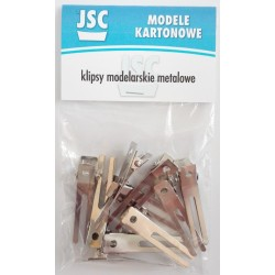 Metal clips, 10 pieces (K 003)