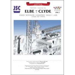 lasercut parts for tug ELBE...