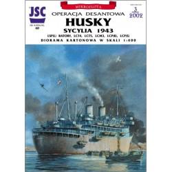 Diorama HUSKY (JSC 060)