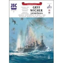 Polskie okręty GRYF,...