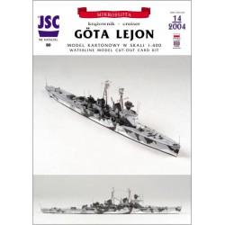 Szwedzki krążownik Göta...